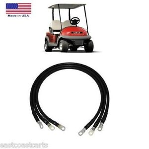 Club Car Precedent Golf Cart 12 Volt Batteries 2 Gauge
