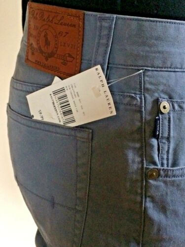 Blue Trousers Ralph New Jeans Tags Varick 30 Bnwt Lauren Polo Men's With Live w7qCFxF
