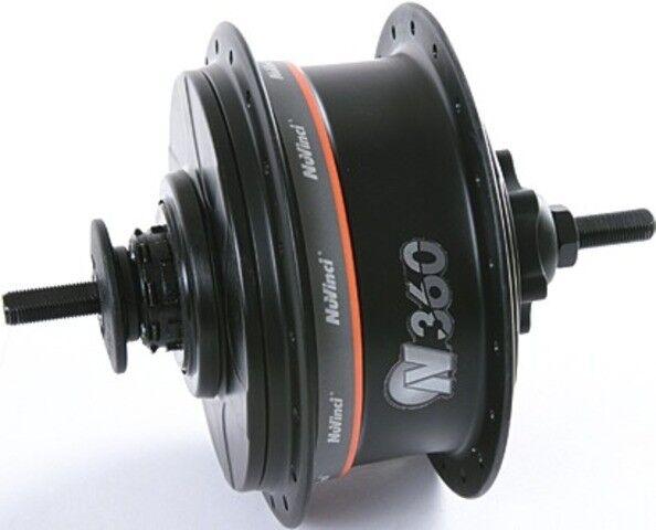 Nuvinci N360 Nabe black Disc Brake + alle Anbauteile 32 Loch