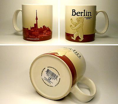 ▓#▓ Starbucks City Mug Icon BERLIN * VERSION 1 Germany 16oz NEW with SKU  ▓#▓