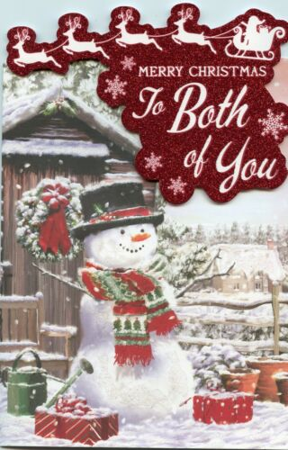 TO BOTH OF YOU CHRISTMAS 6 QUALITY DESIGNS TO CHOOSE FROM