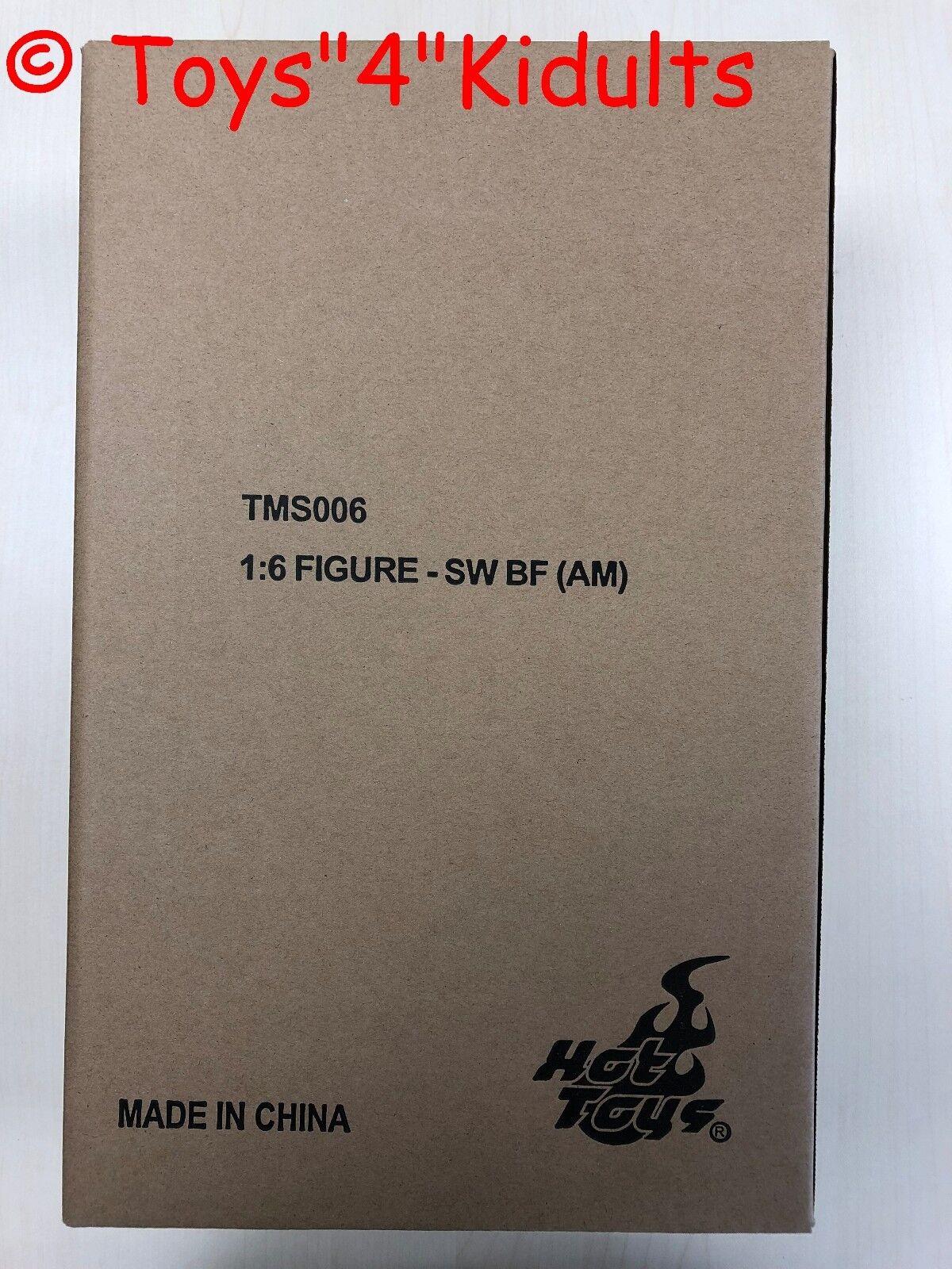 Hot Toys TMS 006 Guerra Guerra Guerra de las Galaxias Boba Fett (animación versión) mandolorian Figura Nueva 0e4f0a
