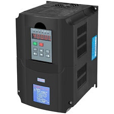 Vevor 55kw 220v 8hp 25a Variable Frequency Drive Vfd Ac 1 3 Phase Converter
