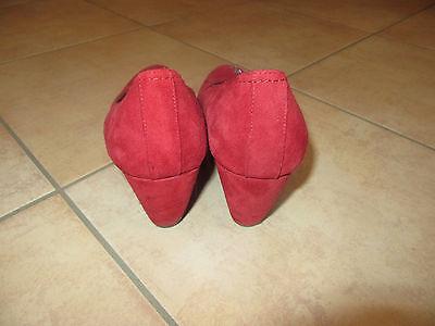 Verkaufe Damen Schuhe 39 rot echt Leder