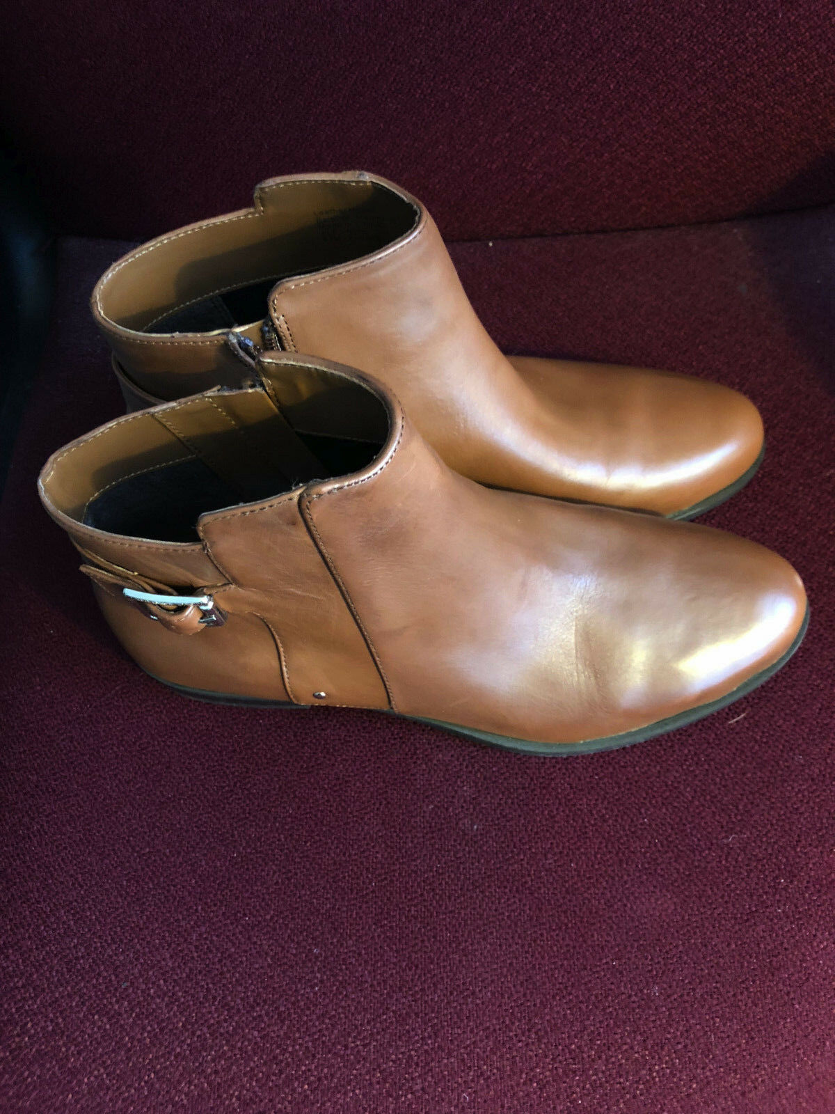 Alfani Alfani Alfani Step & Flex Cognac Genuine Leather Ankle Stiefel-Größe 8 1 2-MSRP    119.50 a17318