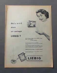 PUB-PUBLICITE-ANCIENNE-ADVERT-CLIPPING-25917-SOUPE-POTAGE-LIEBIG-IL-Y-A-CE-QUE