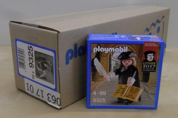 10 x PLAYMOBIL Martin Luther personaggio NEW EDITION 9325  6099  NUOVO & OVP MISB