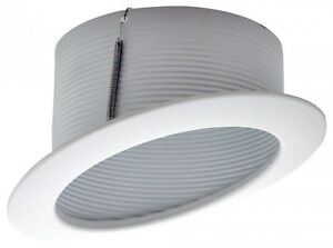 6 Quot Inch Slope Recessed Ceiling Can Light Step Trim Baffle