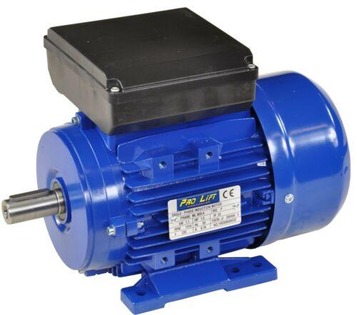 1100W Elektromotor 230V 1410U/min 50Hz 1,1kW Wellendurchmesser 24mm 00387