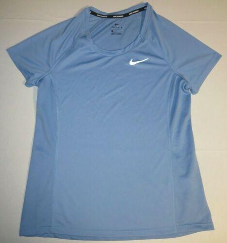 Nike Miler Camiseta para medio para fit azul Ss 831530 mujer Dri de manga corta correr xw4Zxq