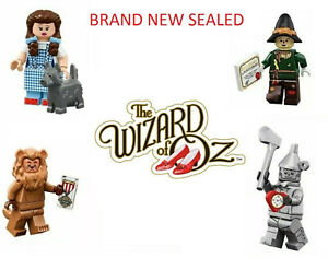 New Wizard of Oz Minifigures 71023 Dorothy Scarecrow Tinman Lion Wicked Witch