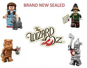 New Wizard of Oz Minifigures 71023 Dorothy Scarecrow Tinman Lion Wicked Witch