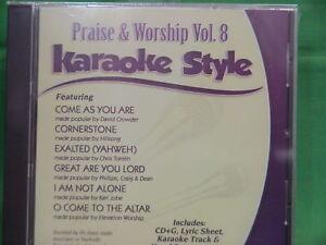 Details about Praise & Worship Volume #8 Christian Daywind Karaoke Style  CD+G Karaoke NEW