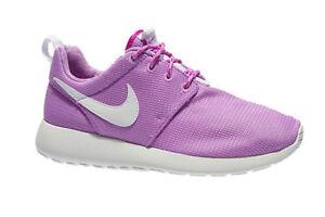 58291fd34ffa NEW Girls Nike Roshe One Size 7Y Womens 8.5 Fuchsia Lavender ...