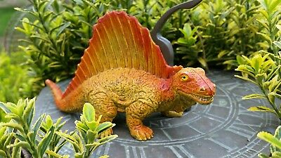Ambizioso Temibili Dimetrodon Dinosauro Preistorico Rettile Raro Da Collezione Giocattolo 13cm Ukrc-mostra Il Titolo Originale Gamma Completa Di Articoli