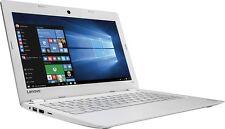"Lenovo Ideapad 110s - 11.6"" Laptop - 80WG0001US (White)"