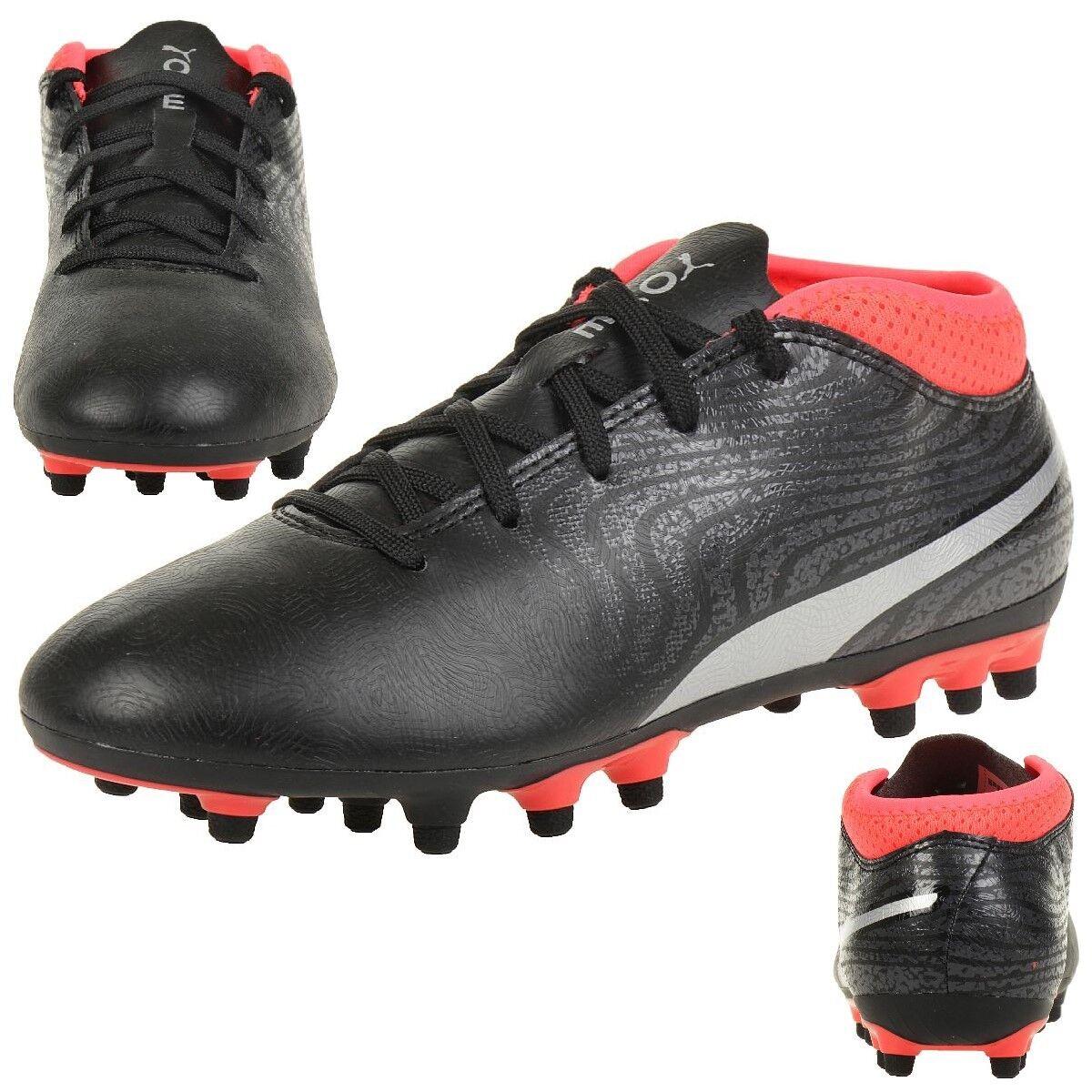 Puma Niños Zapatos de Fútbol One 18.4 Ag Jr Fútbol 104554 01
