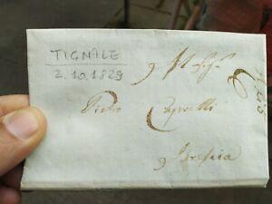 1829-PREFILATELICA-DA-TIGNALE-NEL-BRESCIANO-A-BRESCIA-CON-TESTO