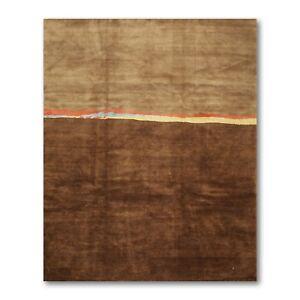 7-039-x-9-039-Michaelian-amp-Kohlberg-Swiss-wash-100-wool-Tibetan-Oriental-rug-Modern