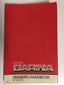 Holden-Barina-MF-Series-Owners-Handbook-1989-1990-Car-Manual-Book