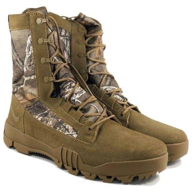 Nike Men's SFB 8  Jungle RealTree Boots Combat 845168 990 Sz 11.5
