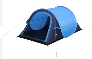 High Peak Wurfzelt Pop-up Zelt 2 Mann Zelt Campingzelt Outdoor Blau Zelten