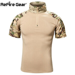 MENS-MILITARY-TACTICAL-CAMOUFLAGE-CAMO-T-SHIRT-ARMY-COMBAT-NEW-COTTON-HUNTING