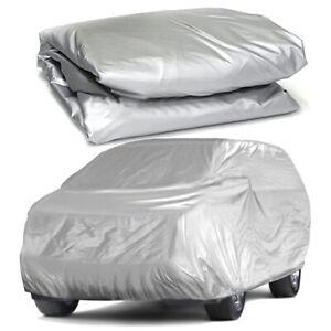 Gray Full Car Cover for SUV Van Truck WaterProof In Out Door Dust UV Snow Rain