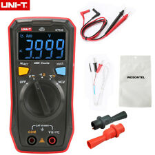 Uni T Digital Multimeter Ut123 Ac Dc Resistance Temperature Ncv Tester Ebtn