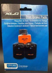 XLC-Pro-Disc-Garnitures-Avid-Elixir-XX-DB-XO-Type-avec-refroidissement-Nageoires-Neuf