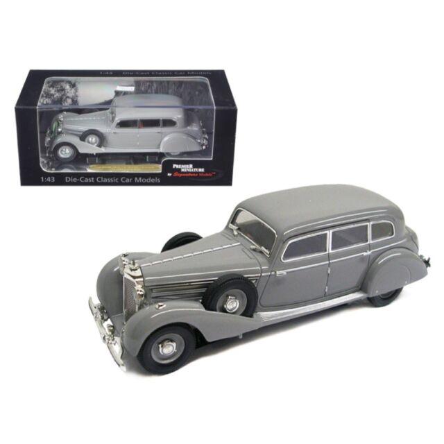 Mercedes 770K Special Roadster 1938 schwarz Modellauto CLC317 IXO 1:43