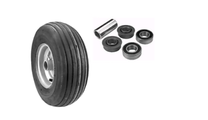 Details about 15X600-6 4PLY WHEEL ASSEMBLY/BEARING KIT DIXIE  CHOPPER,400053,10202(F9)