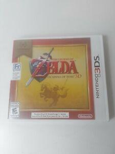 The Legend of Zelda: Ocarina of Time 3D (3DS, 2011) Bilingual Tested Works