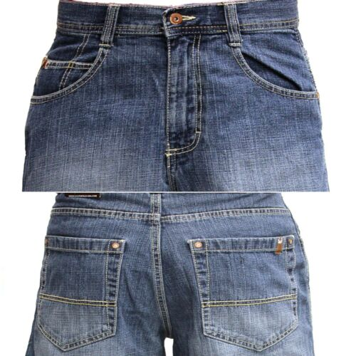 SOUTHPOLE Denim Jean SHORTS 4180-3236 Mens Relaxed Fit  Dark Sand Blue BLACK