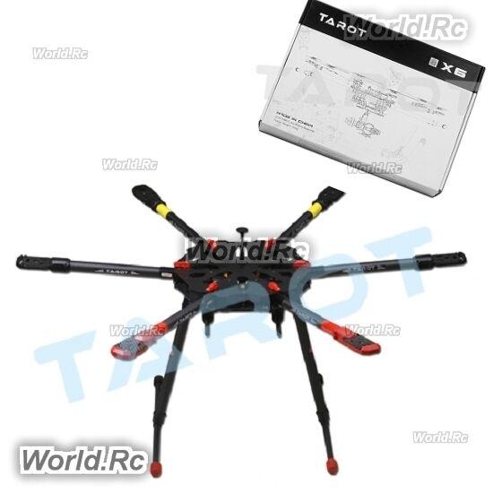 Tarojo X6 esacottero Ombrello pieghevole braccio con carrello di atterraggio elettronico TL6X001