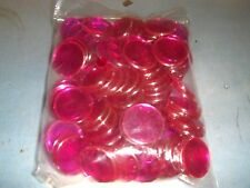 100 New Style Magnetic Professional 3/4 inch Violet Bingo Game Chips