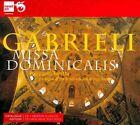 Gabrieli: Missa Dominicalis (CD, Jan-2012, Newton Classics (Label))