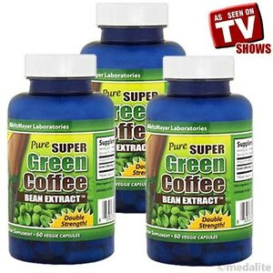 3Bottles-Pure-Super-Green-Coffee-Bean-Extract-Chlorogenic-Acid-800mg-Weight-Loss