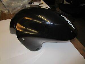 Details about Suzuki GSX1300R Hayabusa  uk made gloss black front mudguard   Fibreglass