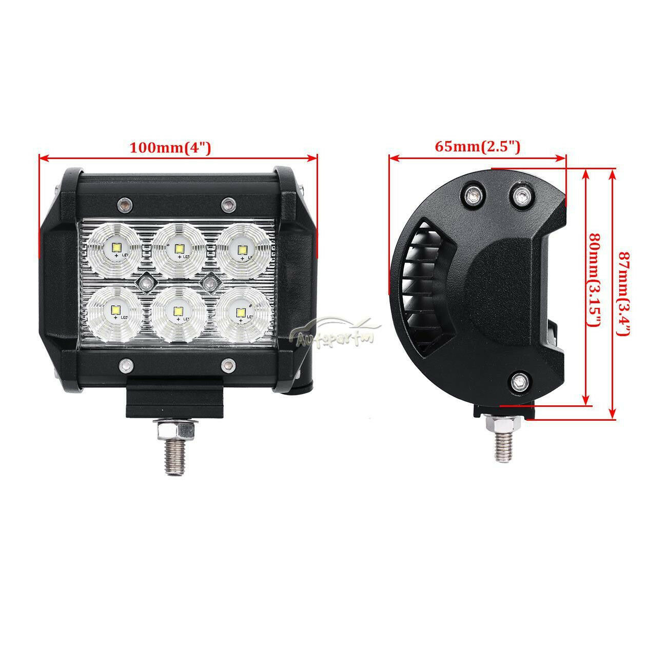 Buy 43 Inch 288w Cree Led Work Light Bar Wiring Kit For Off Road