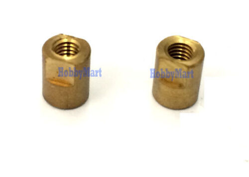 LEFT,RIGHT Metal drive dog shaft 2.6mm for RC boat propeller dive shaft x 1 pair
