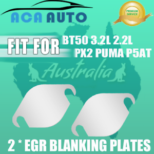 EGR-Blanking-Plate-For-Ford-Ranger-PUMA-P5AT-PX2-amp-For-Mazda-BT50-3-2L-2-2L