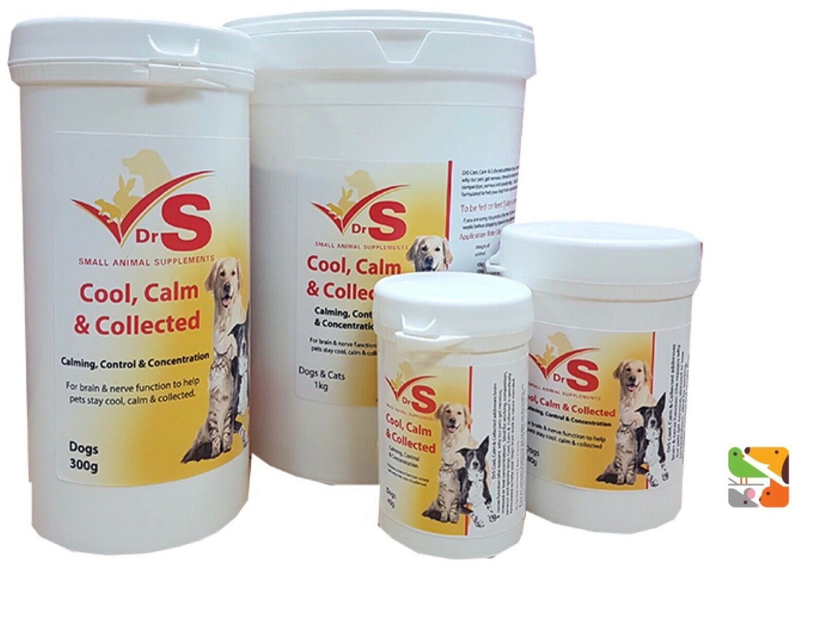 300g Cool Calm & Collected - Dog Supplement - DrS