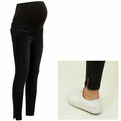 NEW LOOK Maternity Over Bump Jenna Jeans, Pregnancy Skinny Jeggings Sizes 8 20 | eBay