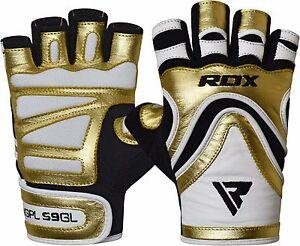 RDX-Guanti-Palestra-Sollevamento-Pesi-Fitness-bodybuilding-Splendente-IT