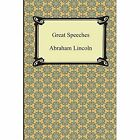 Great Speeches by Abraham Lincoln (Paperback / softback, 2014)