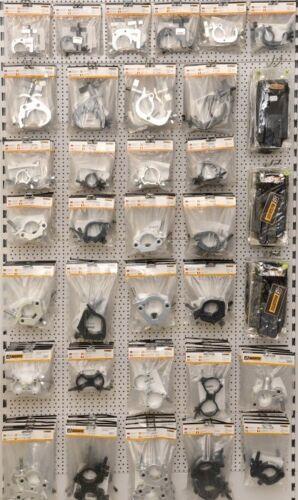 Halfcoupler schmal silber bis 200 kg 48-51 mm Riggatec Halbschelle