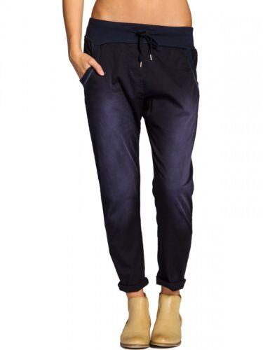 CASPAR KHS028 Damen stonewashed Baumwoll Sweatpants NEU