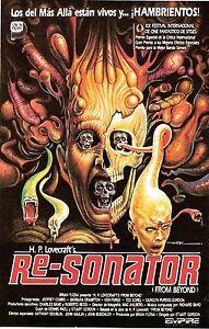 FROM BEYOND aka RE-SONANTOR Movie Poster Horror HP LOVECRAFT