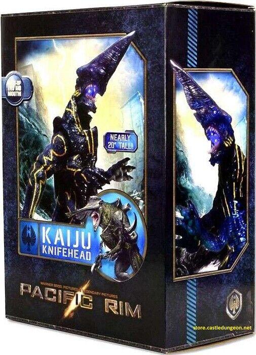 Knifehead Kaiju Pacific Rim Ultra Deluxe 18 pulgadas Iluminan Ojos Y Boca.